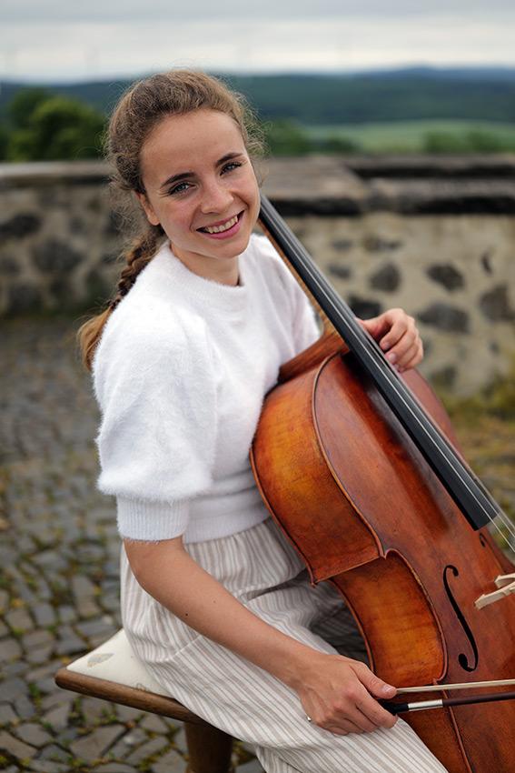 Clara Berger, Cellistin